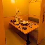 【テーブル半個室】女子会・飲み会に◎カジュアルな雰囲気のお席 2~4名様×4部屋