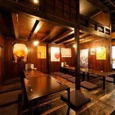 古き良き江戸の煮売屋を感じる和空間