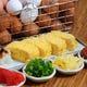 名物出し巻き卵はバリエーション豊富で人気の一品です。