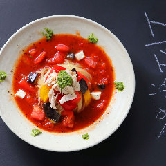 トマト冷麺