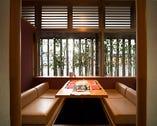 落ち着いた和の雰囲気をもつ完全個室をご用意しております。