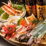 北海道旬の海鮮多数ご用意!