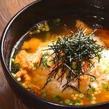 あつあつ鰹出汁のお茶漬け(鮭・梅)