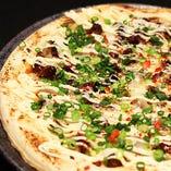 肉味噌マヨネーズピザ