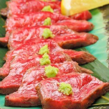 ◆レアに仕上げた黒毛和牛ステーキ