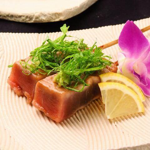 ◆定番メニュー「串焼き/魚串」