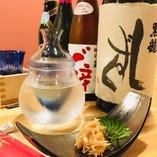 仕入れや季節によって変わる全国銘柄の日本酒を堪能♪