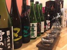◆全国銘柄 旬の日本酒を堪能