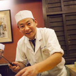 当店料理長・藤田です。宜しくお願いします。