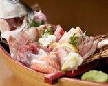 【とにかく新鮮】 海鮮メニューがいちおし◎刺し盛り必食です