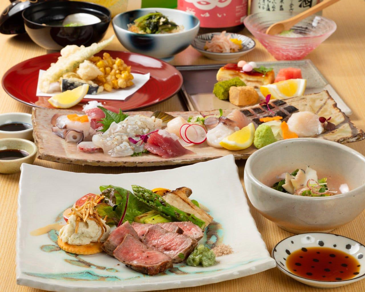 ◆コースで和食を愉しんで頂きたい