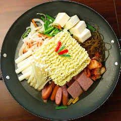プデチゲ(韓国乾麺付き)