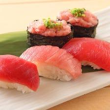 まぐろ三昧にぎり寿司!