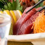 毎朝直送!季節の旬鮮魚を使用!【国産】