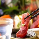 旬の食材を使用した和から洋まで幅広いメニューをご提供。
