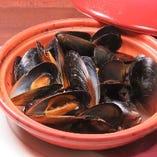 ムール貝のタジン蒸し