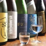 全国各地から厳選して取り揃えた日本酒を種類豊富に取り揃え。