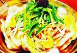 白菜と豚のシークヮサー鍋