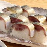 肉厚サバ棒寿司