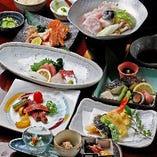 宴会コースのお料理は個別盛りで対応させていただいております。