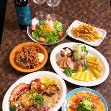 【人気】日本酒やワインを堪能!