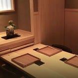 雰囲気抜群の個室はビジネスシーンでもご利用いただけます。