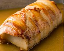 長芋豚巻ステーキ