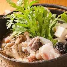 北海道でも珍しい鮟鱇のフルコース
