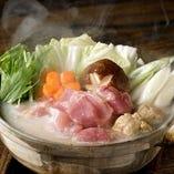 鶏パイタン鍋