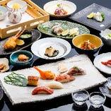 新鮮なお寿司や海鮮料理、逸品料理等が食べ放題!