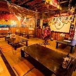 【2〜4名様×6卓】ライブも楽しめる沖縄情緒あふれるお座敷