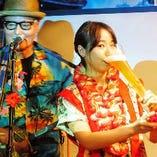 大切な記念日は、スペシャルドリンクと沖縄島唄でお祝いします!