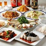 贅沢な宴会に◎中華逸品を存分に堪能「北京ダックコース」