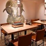 ◆◇ラム料理 羊肉専門店 ~辰~ 池袋南口店 席紹介◇◆