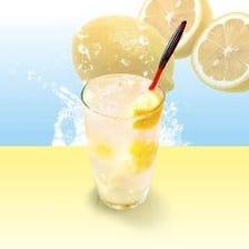 擦りおろしレモンサワー