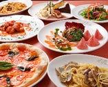 本格イタリアンの大皿パーティープランは、是非飲み放題セットで