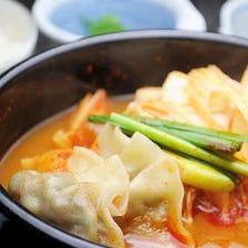 あーちゃん餃子鍋(赤スープ)