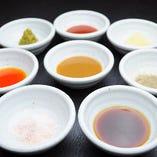 三代引き継いだ伝統の味 8種の薬味で美味さ8倍!