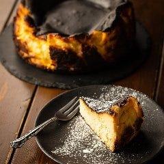 美食家達のバスク風チーズケーキ