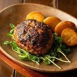 【限定】 人気のランチは国産牛100%ハンバーグステーキ