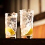 【爽快】 1口ごとに味わい奥深い観音山生搾りレモンサワー