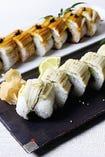穴子の棒寿司