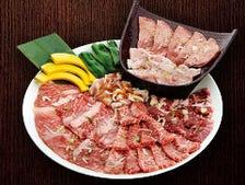 いろいろなお肉が楽しめる盛合せ♪