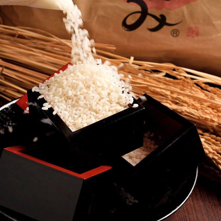 お米マイスターが厳選したこだわりのお米を使用しています♪