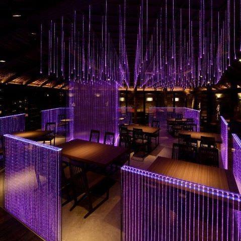 上野でダウンライト灯るお洒落な空間