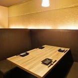 上質な空間の完全個室ですので秋葉原でのご接待もお任せ下さい