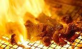 耳納豚もも炭火焼