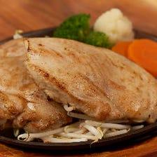鶏モモ肉 200g+鶏ムネ肉 200g