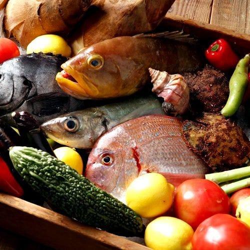 新鮮な食材にこだわっております