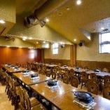ポプラ館個室は最大4部屋まで合わせることができます